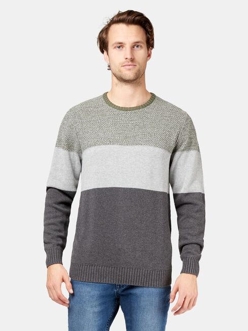 Finnegan Block Stripe Knit