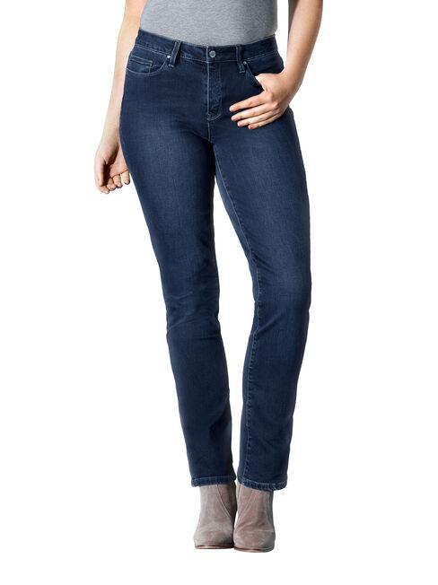 Curve Embracer Slim Straight jeans Deep Sea Blue