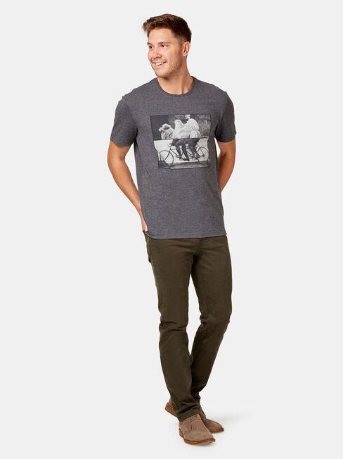 Slim Straight Jeans Dark Forest
