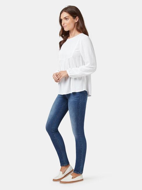 Sia Shirt, White, hi-res