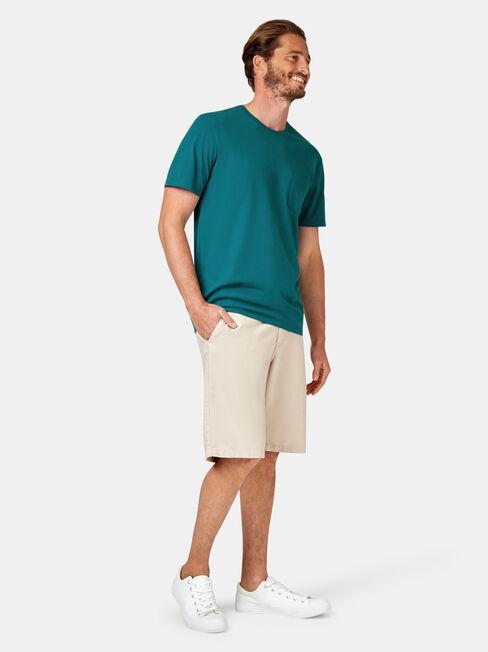 Preston Short Sleeve Basic Pocket Tee, Blue, hi-res