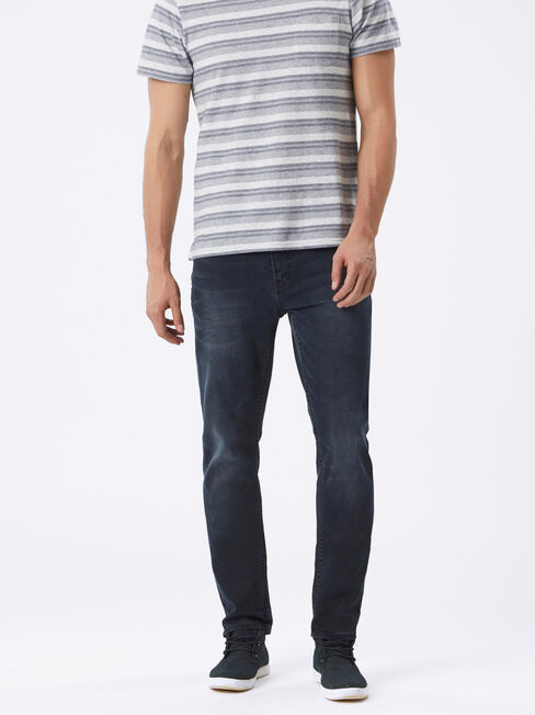 Slim Tapered jeans Blackened Blue