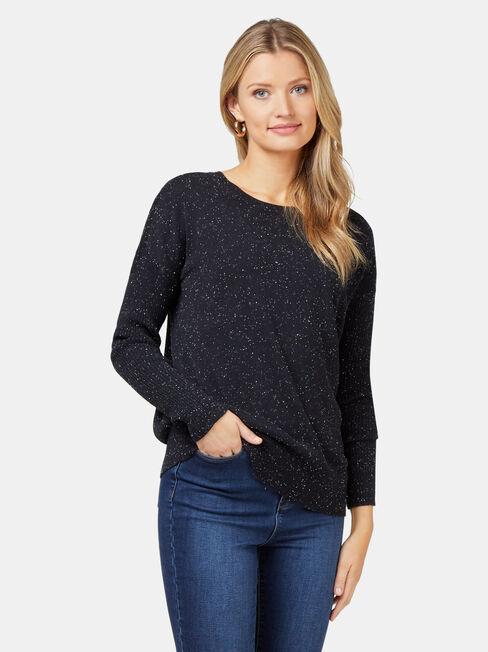 Blake Essential Pullover, Blue, hi-res
