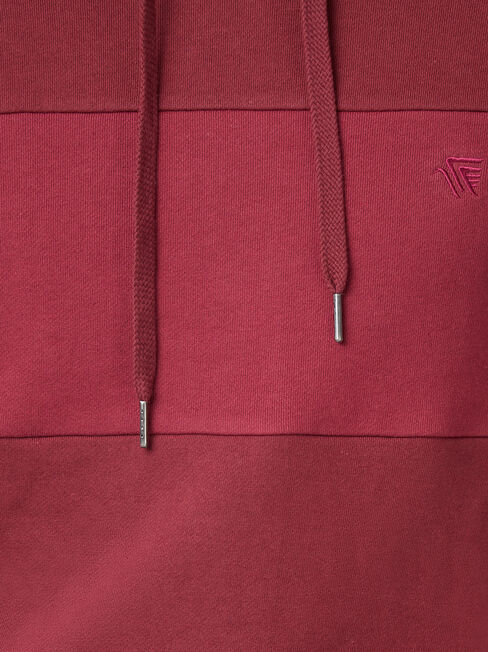 Tory Hooded Sweat, Red, hi-res