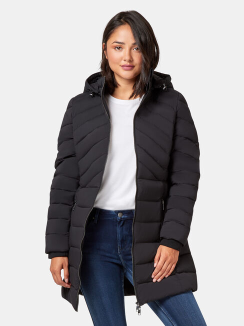 Bella Longline Padded Jacket