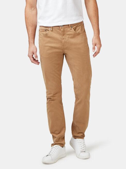Slim Tapered Jeans Tobacco