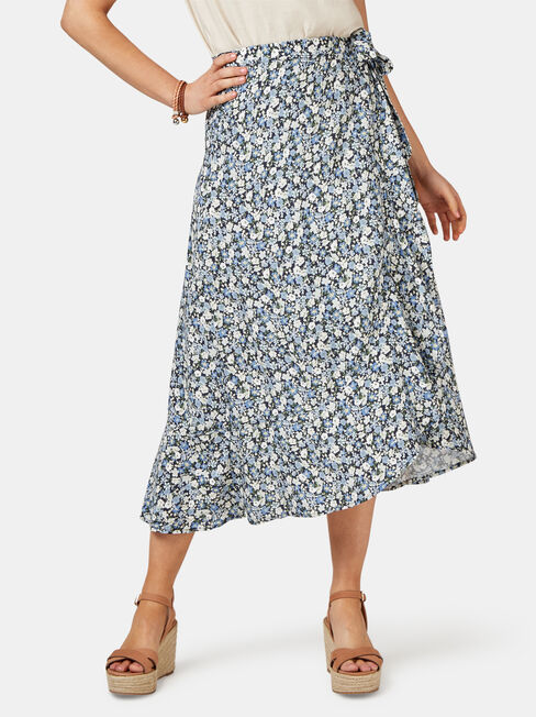 Chloe Midi Wrap Skirt