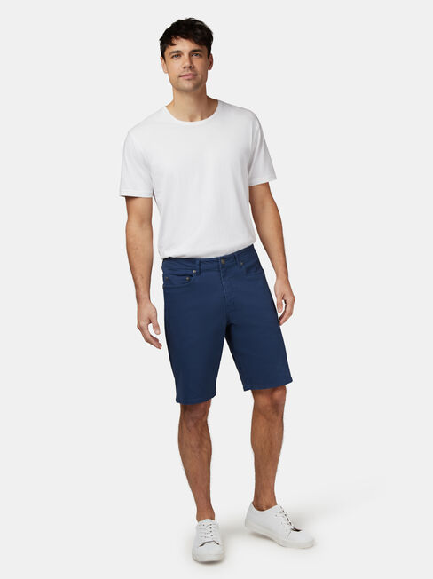 Milton 5 Pocket Short, Blue, hi-res