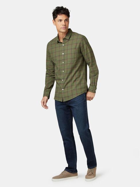 Mason Long Sleeve Brushed Check Shirt