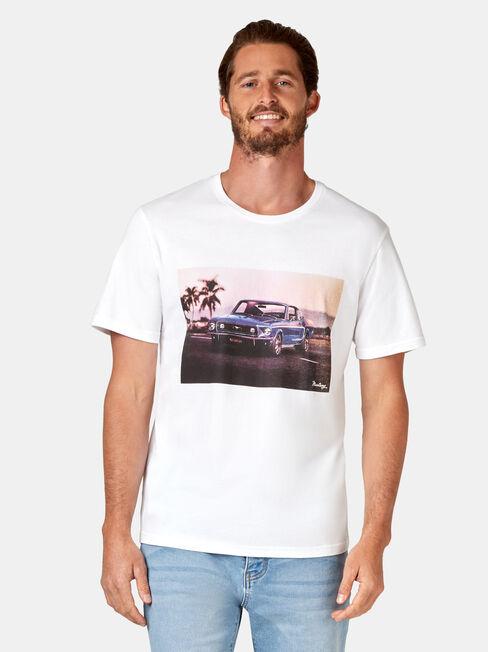 Jude Short Sleeve Print Crew Tee
