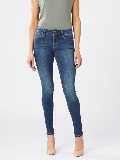 Hip Hugger Skinny jeans Mid Vintage