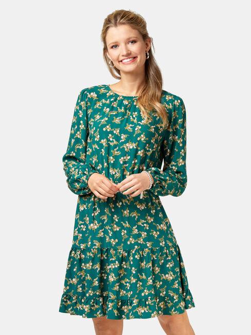 Anna Printed Dress