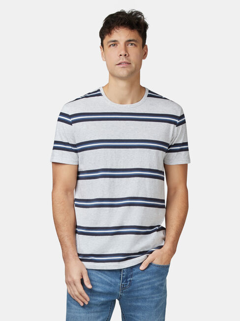 Porter Short Sleeve Stripe Crew Tee