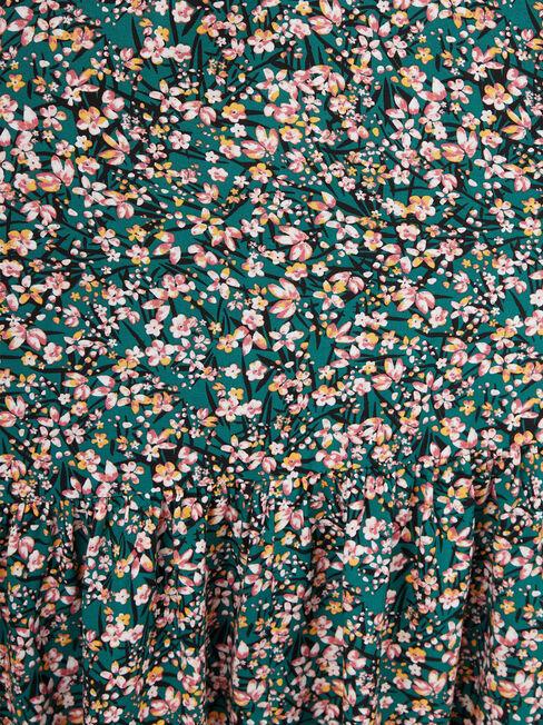 Gina Midi Dress, Green, hi-res
