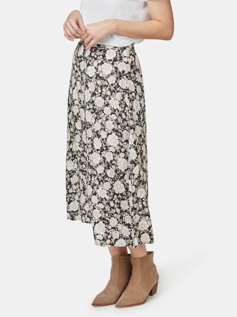 Gabriella Soft Skirt, Floral, hi-res
