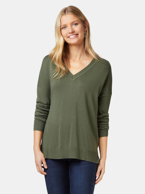 Cassidy Essential V-Neck Pullover