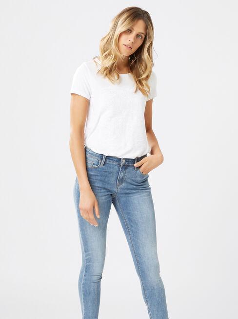 Skinny jeans Soft Vintage, Light Indigo, hi-res