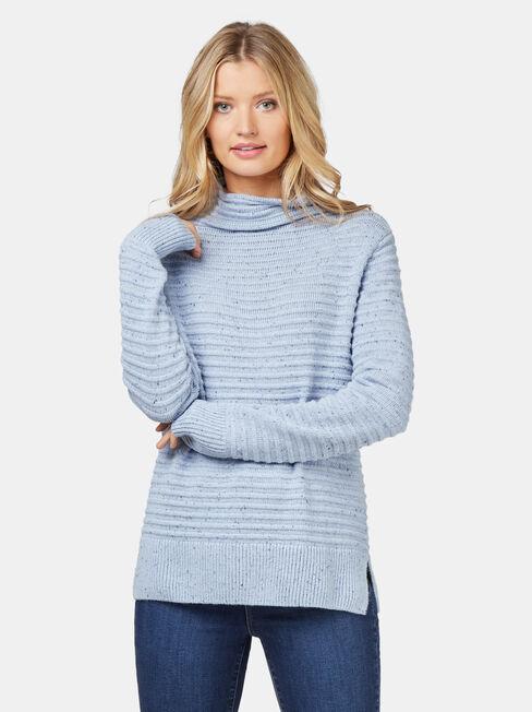 Josie Nep Pullover, Blue, hi-res