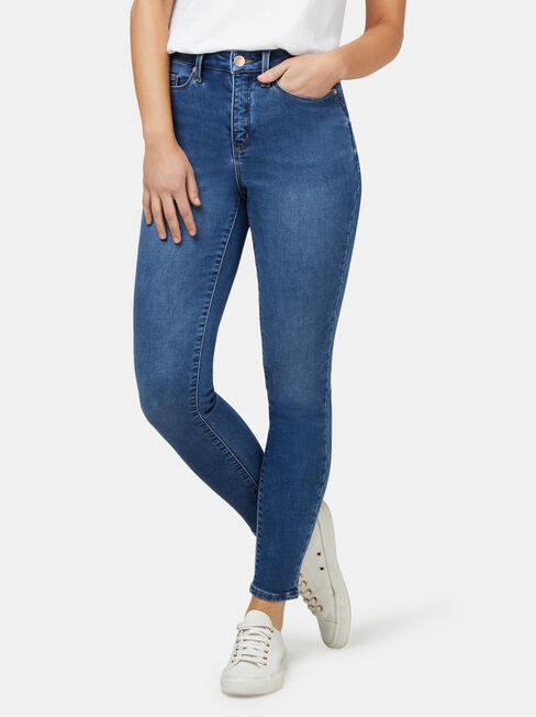 Feather Touch M/W Skinny 7/8 Jeans