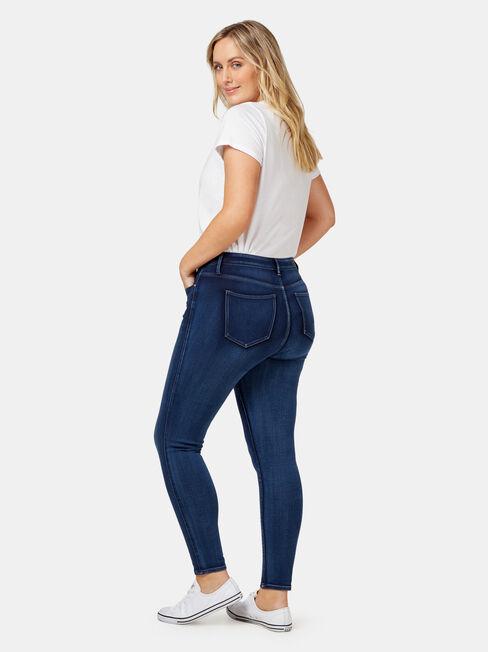 Freeform 360 Curve Embracer Skinny 7/8 Jeans Imperial Blue, Mid Indigo, hi-res