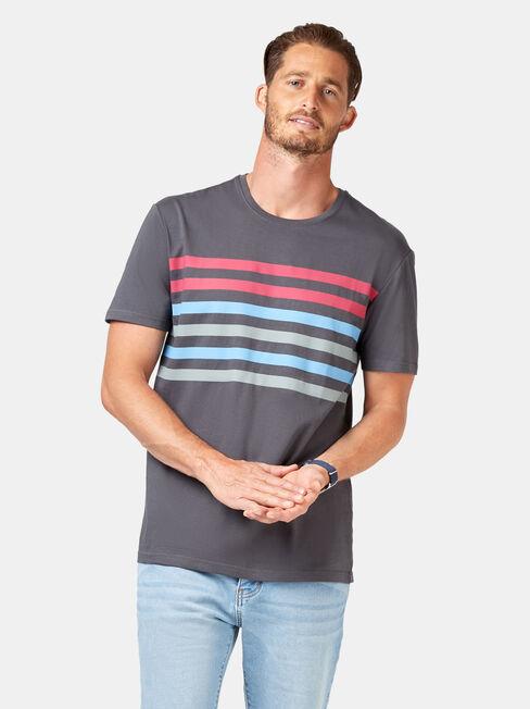 Dexter Short Sleeve Print Crew Tee