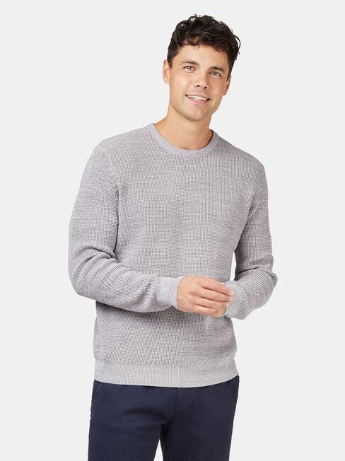 Spencer Textured Crew Knit