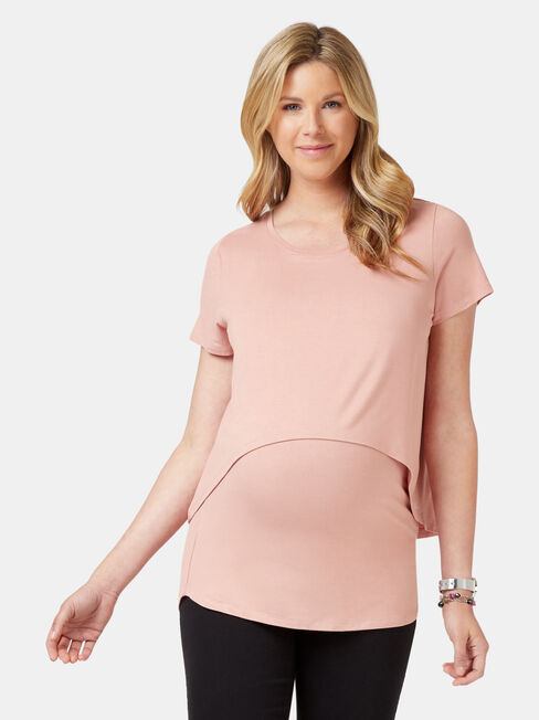 Cerese Layered Maternity Top