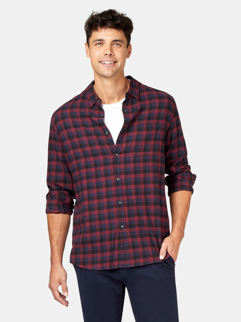 LS Harvey Check Shirt