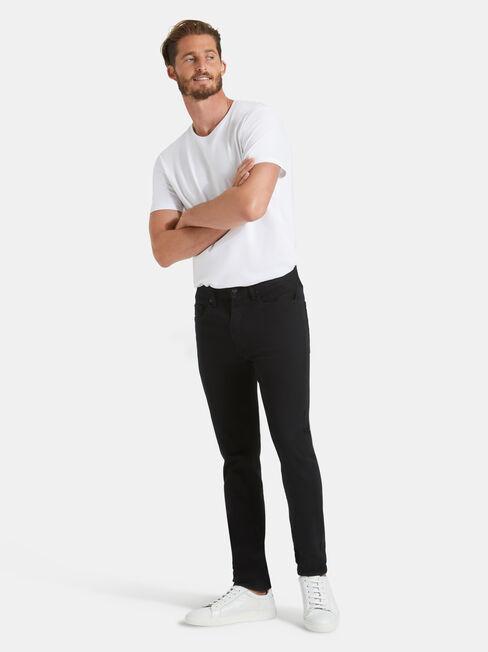 Skinny Jeans Black Encore, Black, hi-res