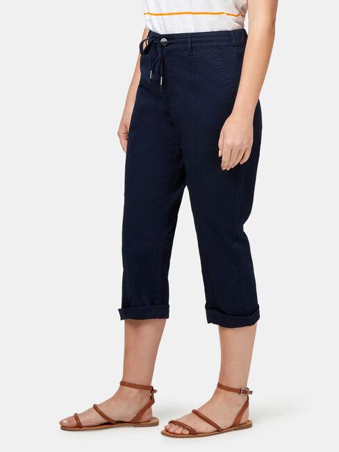 Caley 3/4 Pant, Blue, hi-res