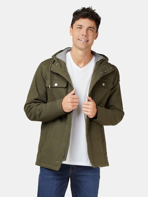 Dante Drill Jacket, Green, hi-res