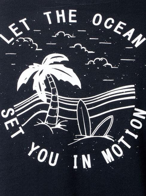 SS Cullen Print Crew Tee, Black, hi-res