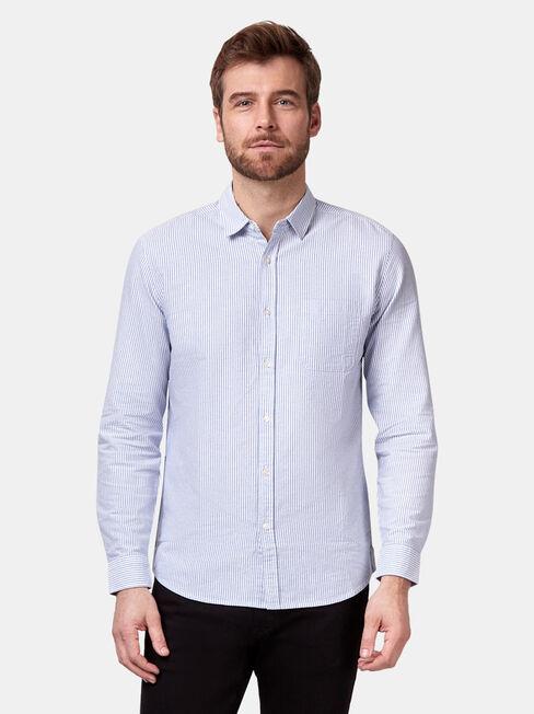 Rudy Long Sleeve Stripe Shirt, Stripe, hi-res
