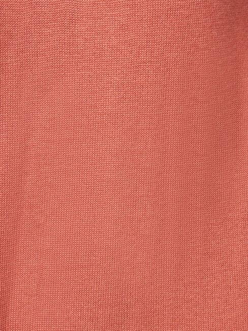 Keira Essential Funnel Pullover, Pink, hi-res
