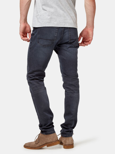Skinny Jeans Blackened Blue, Black, hi-res