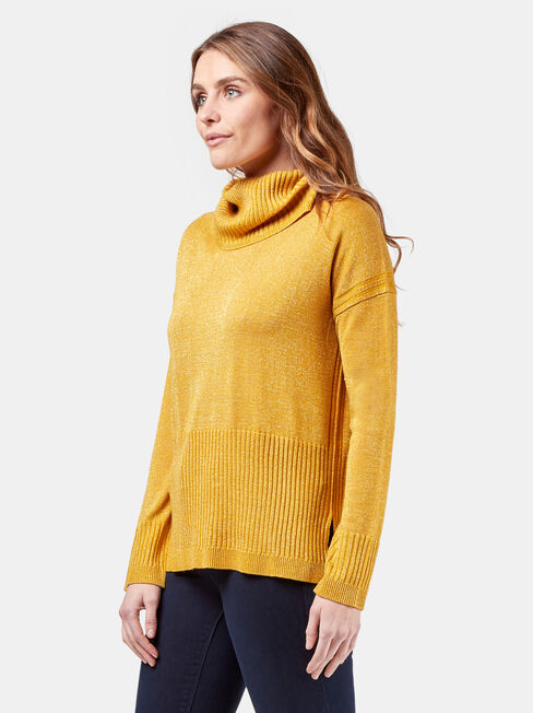 Charlotte Pullover, Yellow, hi-res