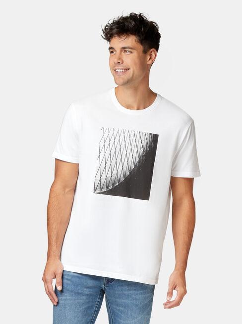 Smith Short Sleeve Print Crew Tee