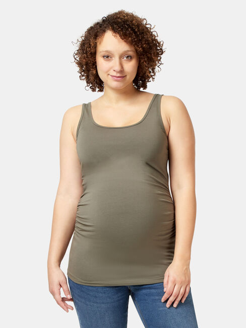 Lola Maternity Cotton Basic Tank