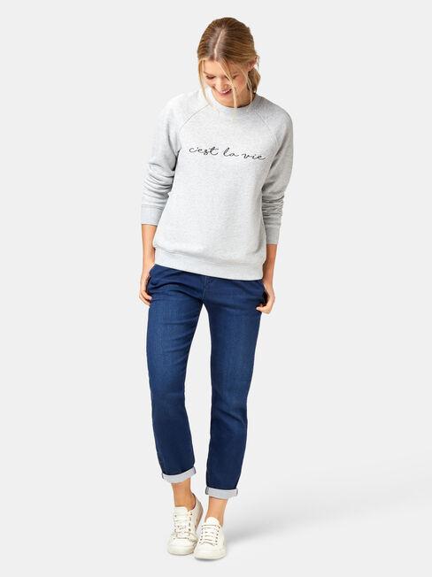 Viola Sweatshirt, Grey, hi-res
