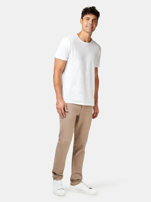 Miller Knit Chino Pant, Brown, hi-res