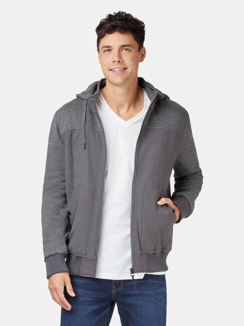 Floydd Fleece Jacket, Grey, hi-res