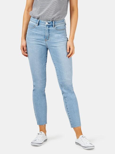 Joni Slim Raw Edge Jean