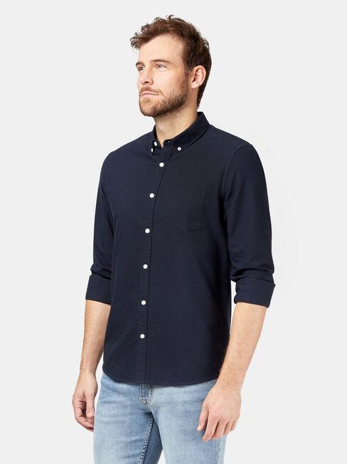 Peyton Long Sleeve Oxford Shirt, Blue, hi-res