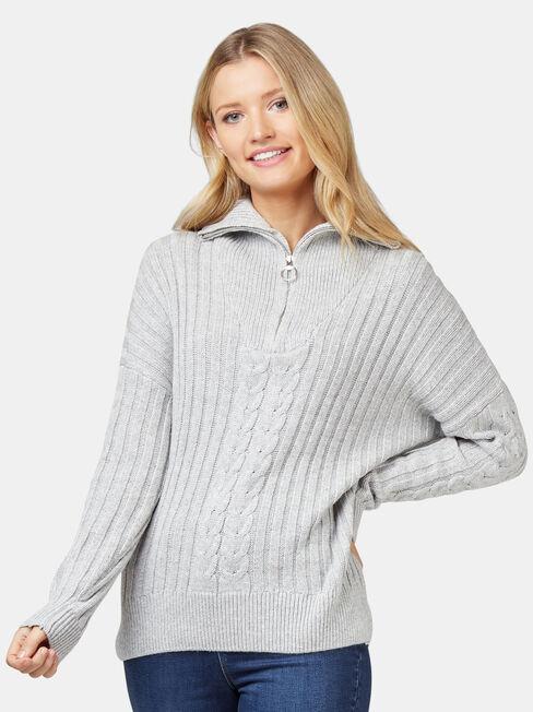 Ziggy Zip Front Pullover