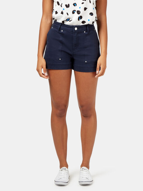 Caroline Studded Short
