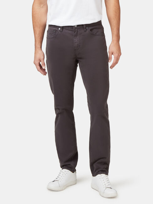 Slim Tapered Jeans Black Charcoal