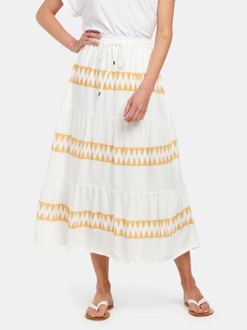 Tiffany Tiered Midi Dress