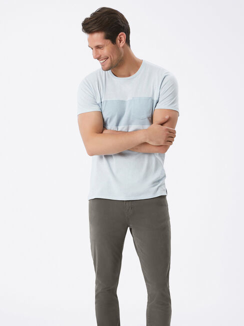 Slim Tapered Jeans Flint, Coloured, hi-res
