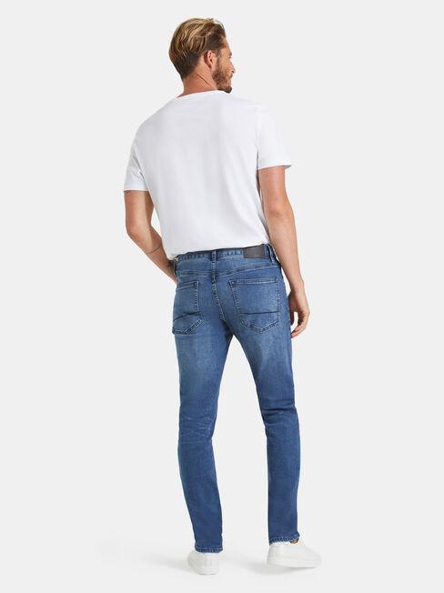 Skinny Jeans Mid Blue, Mid Indigo, hi-res