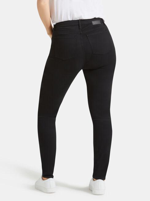 Curve Embracer Skinny Jeans Black Night, Black, hi-res
